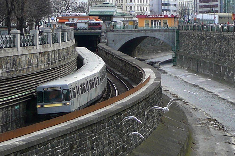 Radtour Passau-Wien - U-Bahn Wien